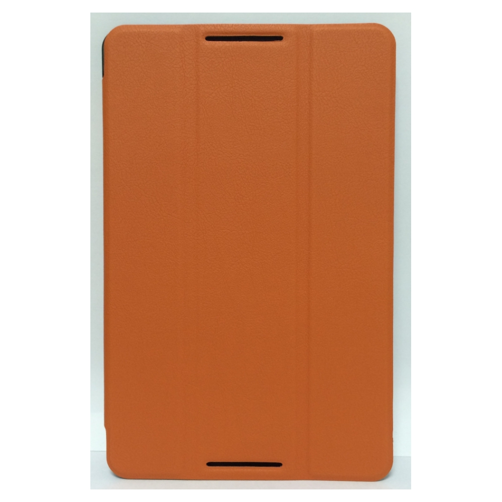Чехол Classic Slim Stand Leather Case для Lenovo A5500 Orange