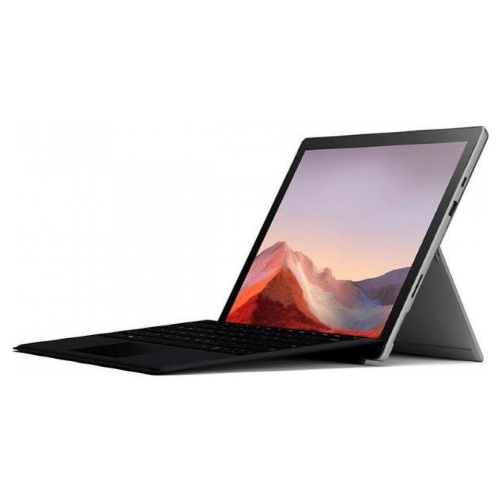 Планшет MICROSOFT SURFACE PRO 7 i3 4GB RAM 128GB SSD WITH BLACK TYPE COVER PLATINUM (QWT-00001)