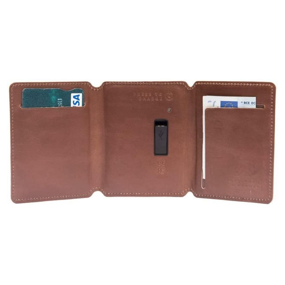 Внешний аккумулятор Seyvr Phone Charging Wallet 1400mAh micro-usb Brown