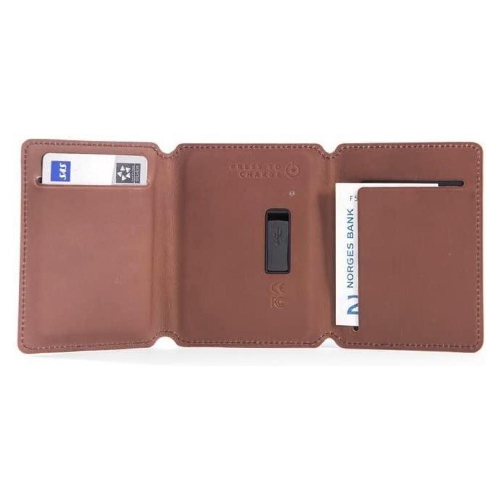 Внешний аккумулятор Seyvr Phone Charging Wallet 1400mAh lightning Brown
