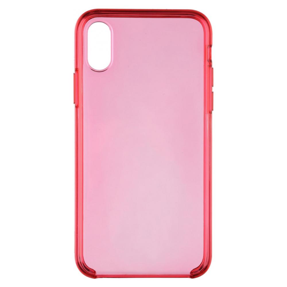 Панель ArmorStandart Clear Case для Apple iPhone XS/X Pink (ARM54937)