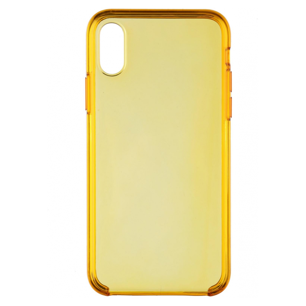 Панель ArmorStandart Clear Case для Apple iPhone XS/X Yellow (ARM54935)
