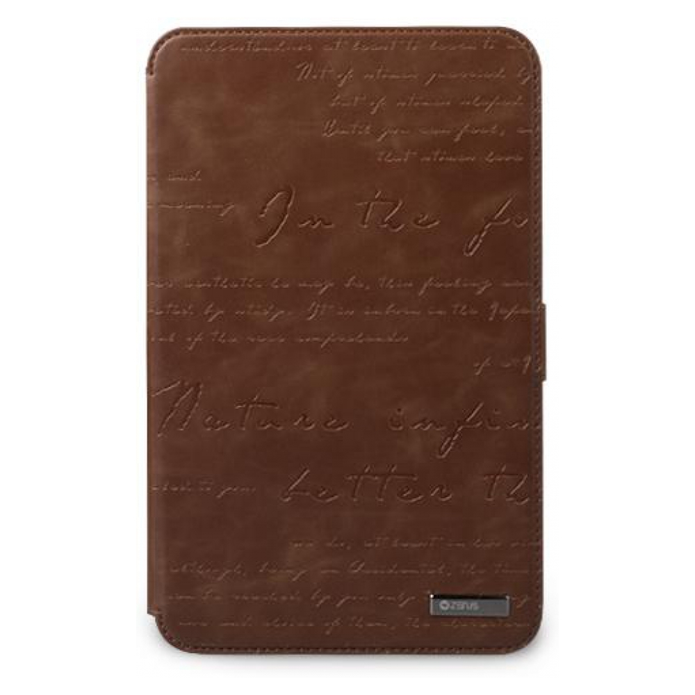 Чехол ZENUS Galaxy Tab 7.0 (P3100) Leather Case 'Masstige' Lettering Diary Series - Brown