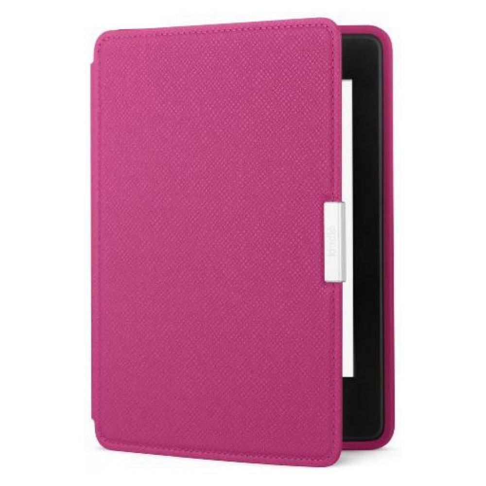 Чехол Amazon Kindle Paperwhite Leather Cover, Fuchsia