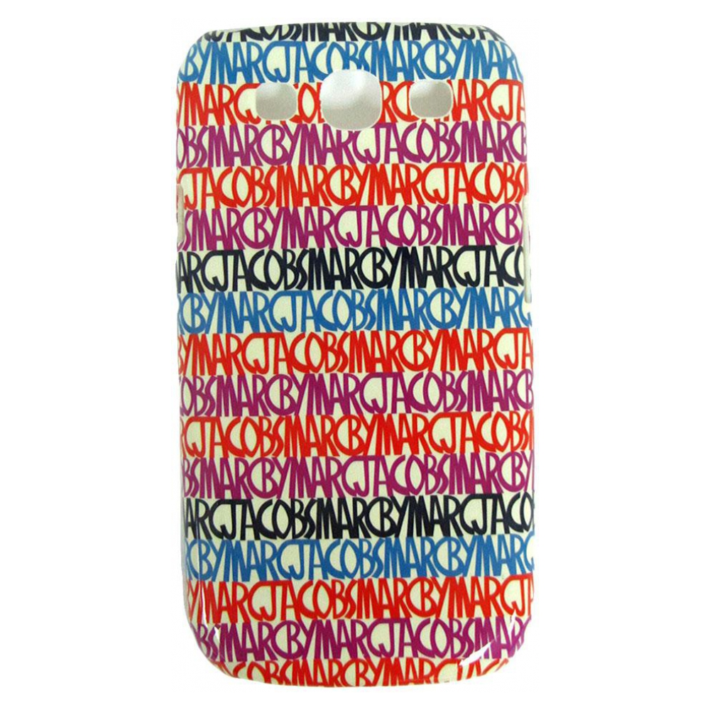 Чехол Marc by Marc Jacobs Metallic Jumble Case для Samsung i9300