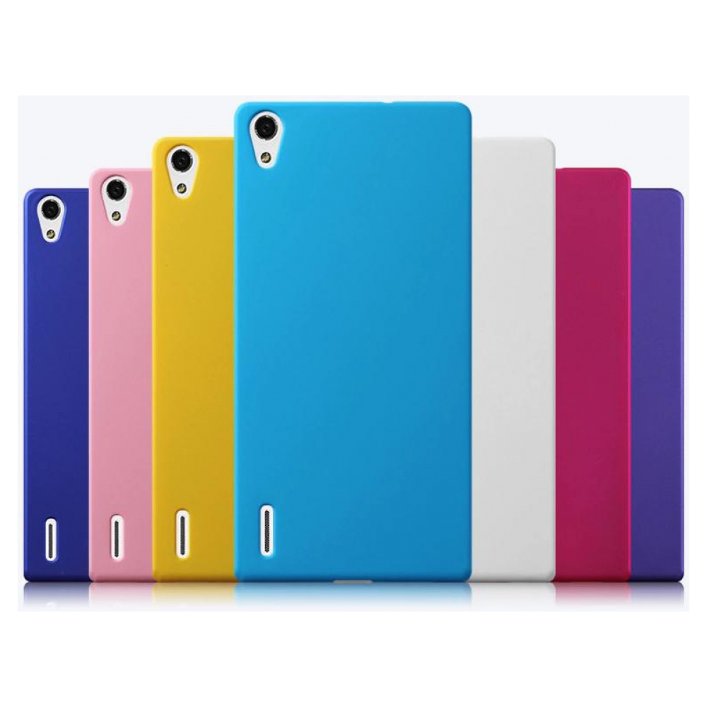 Чехол Silicon Case Huawei Ascend P7 Blue