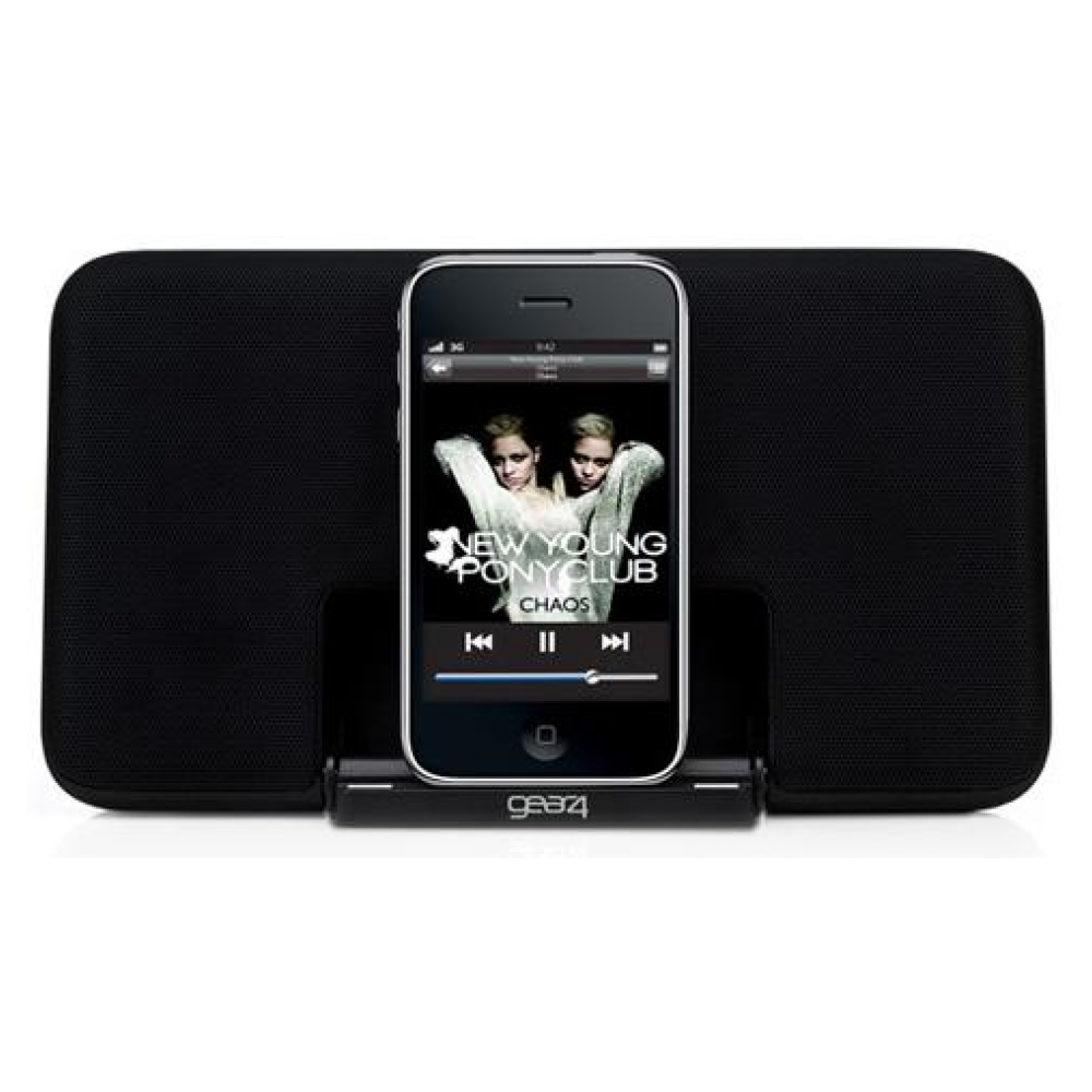 Акустическая система Gear 4 Portable Speaker Dock Street Party Size 0 V2 для iPhones/iPods (PG492)