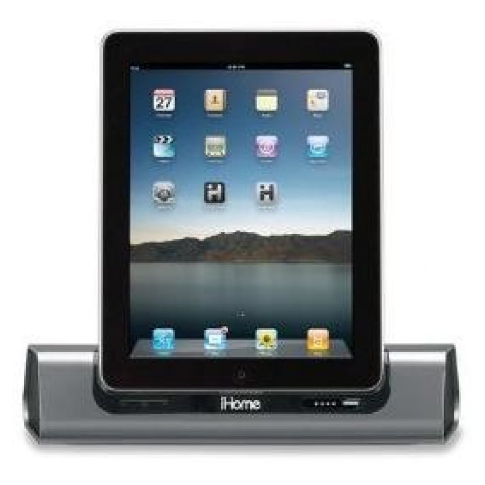 Акустическая система iHome iD8 App-Friendly Rechargeable Speaker System для iPad, iPhone and iPod