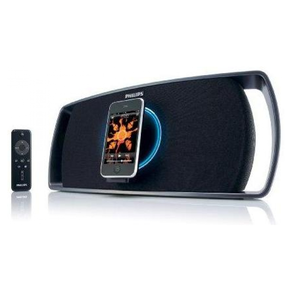 Акустическая система Philips SBD8100 Revolution Motorized Portable Speaker Dock для iPhone/iPod