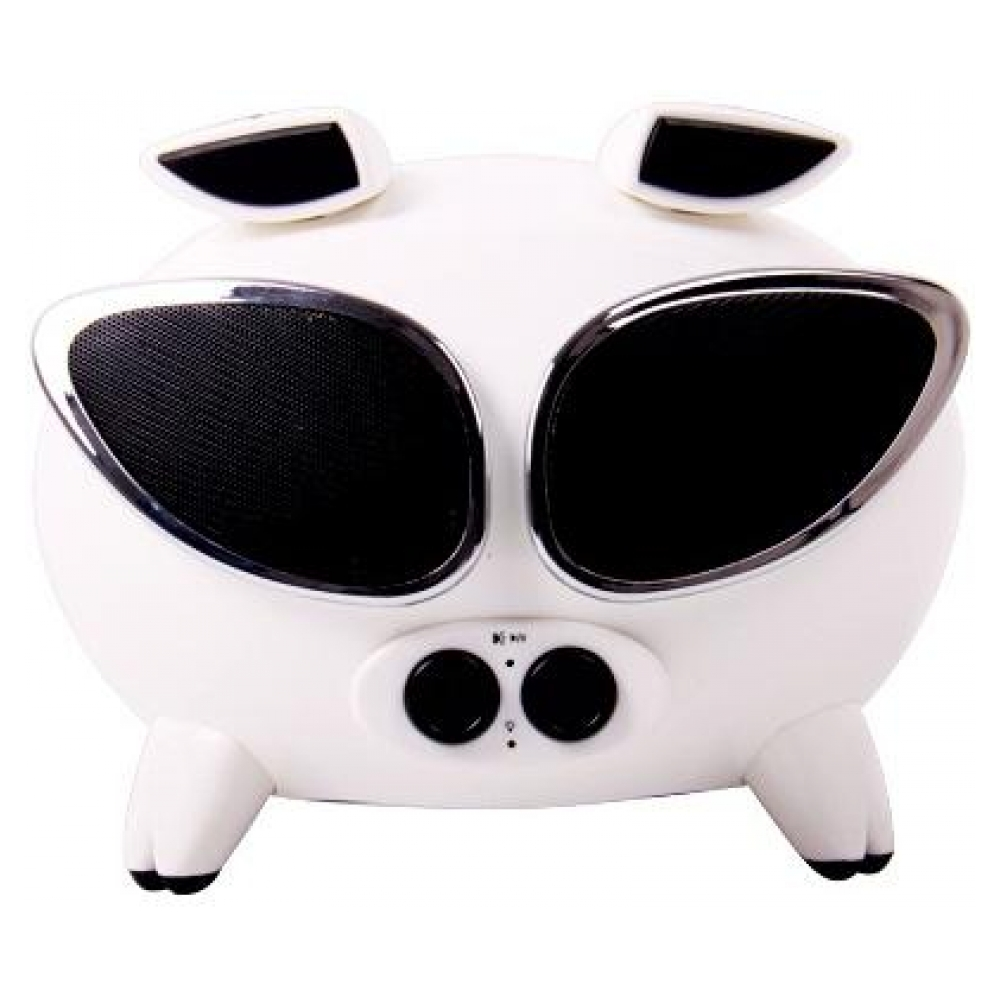 Акустическая система Speakal Cool iPig White (Portable iPhone/iPod DockSpeaker) (CIPIG-WHT-01)