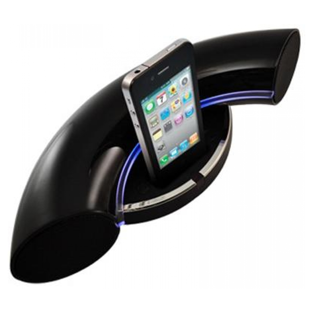 Акустическая система Speakal iKurv Black (iPod Docking Station) (IKURV-BLK-01)