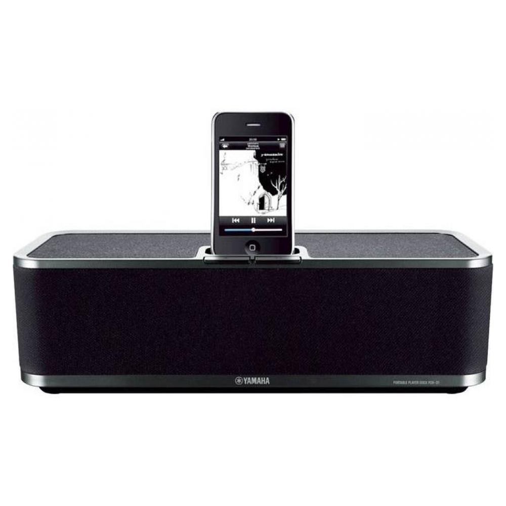 Акустическая система Yamaha PDX-31BL Portable Player Dock для iPod and iPhone (Black)
