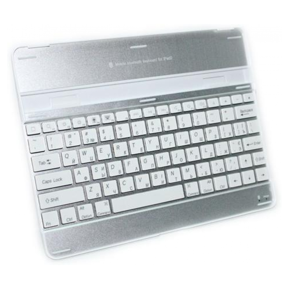 Клавиатура Egretech Mobile Bluetooth Keyboard White/Silver для iPad2