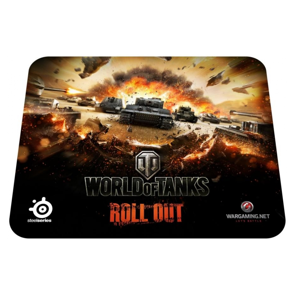 Игровая поверхность SteelSeries QcK World of Tanks Tiger Edition (67272)