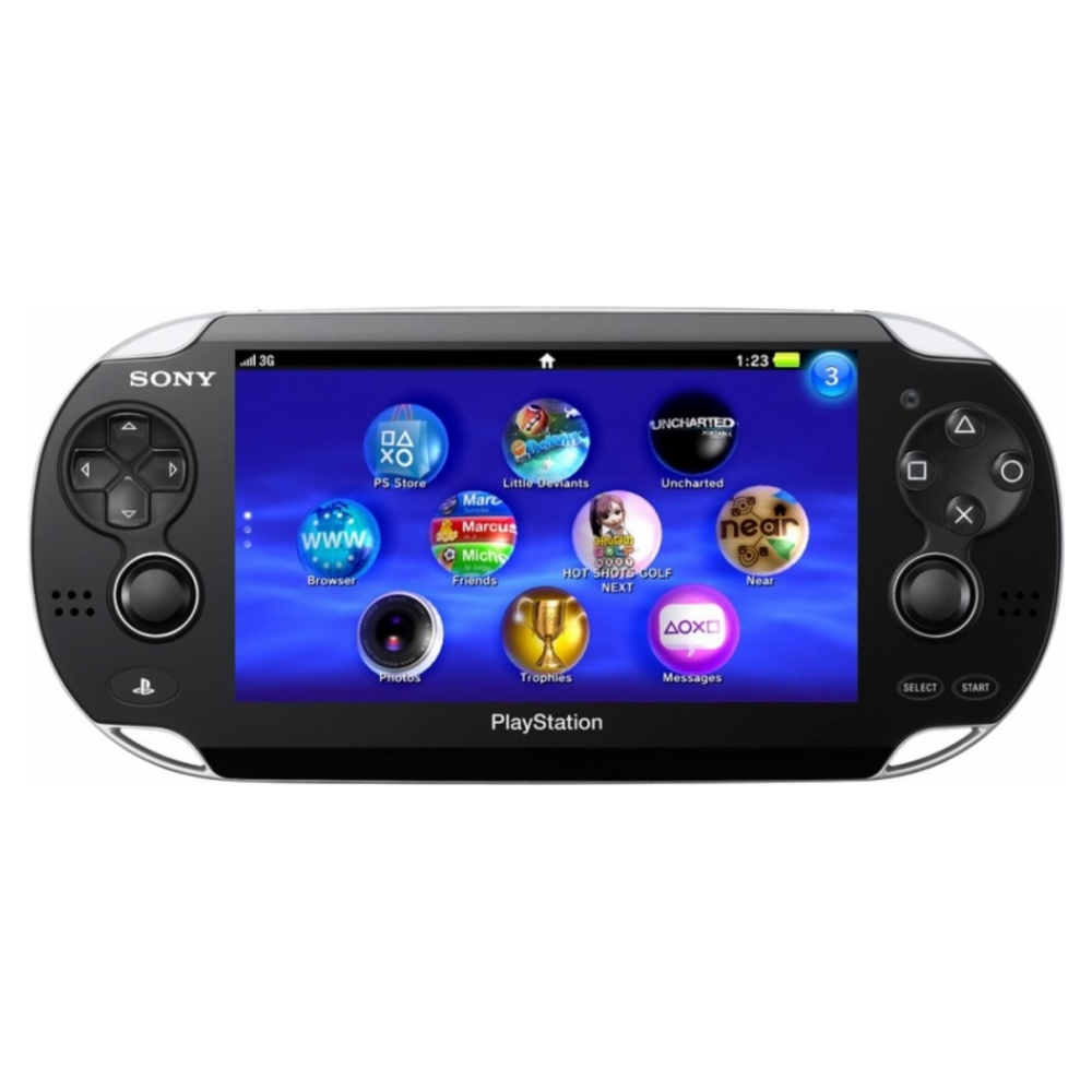 Sony PS Vita Wi-Fi/3G Bundle (MC 8Gb, Killzone: Mercenary)