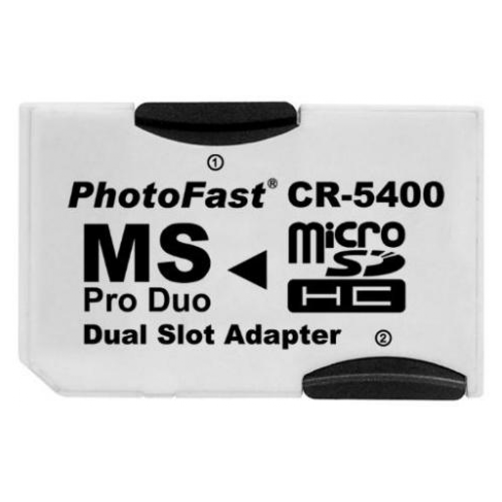 Adapter CR-5400 2microSD to Pro Duo